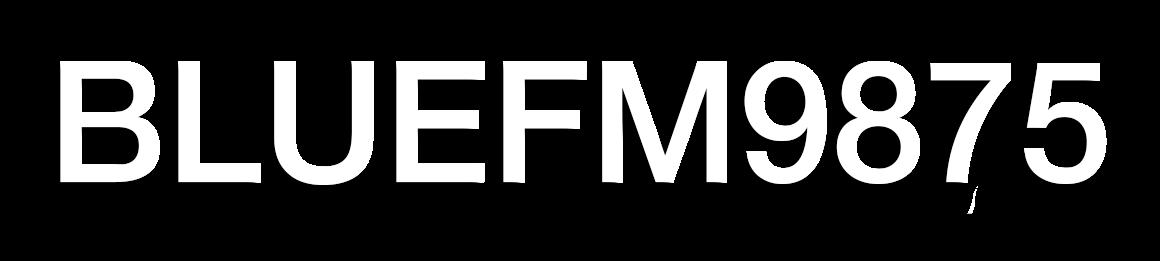 BLUEFM9875.COM | บลูเอฟเอ็ม คลื่นฮิตของคนแม่สอด Logo